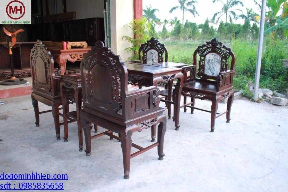 50+ mẫu bàn ghế gỗ, salong đẹp cho phòng khách giá tốt nhất – Phần 1