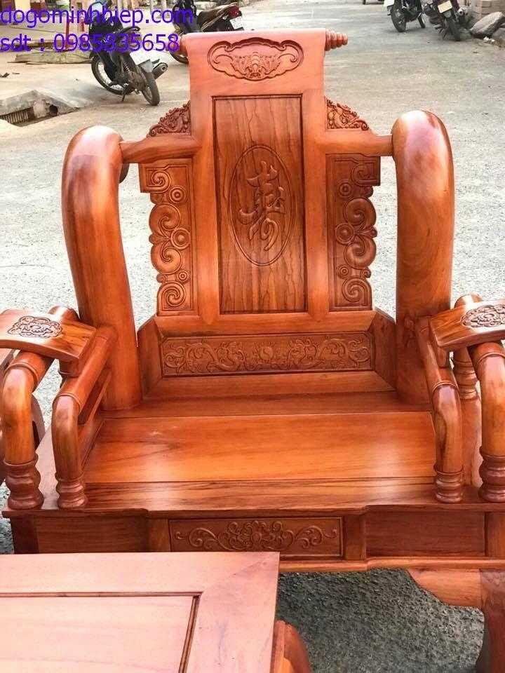 bàn ghế salong tần thủy hoàng