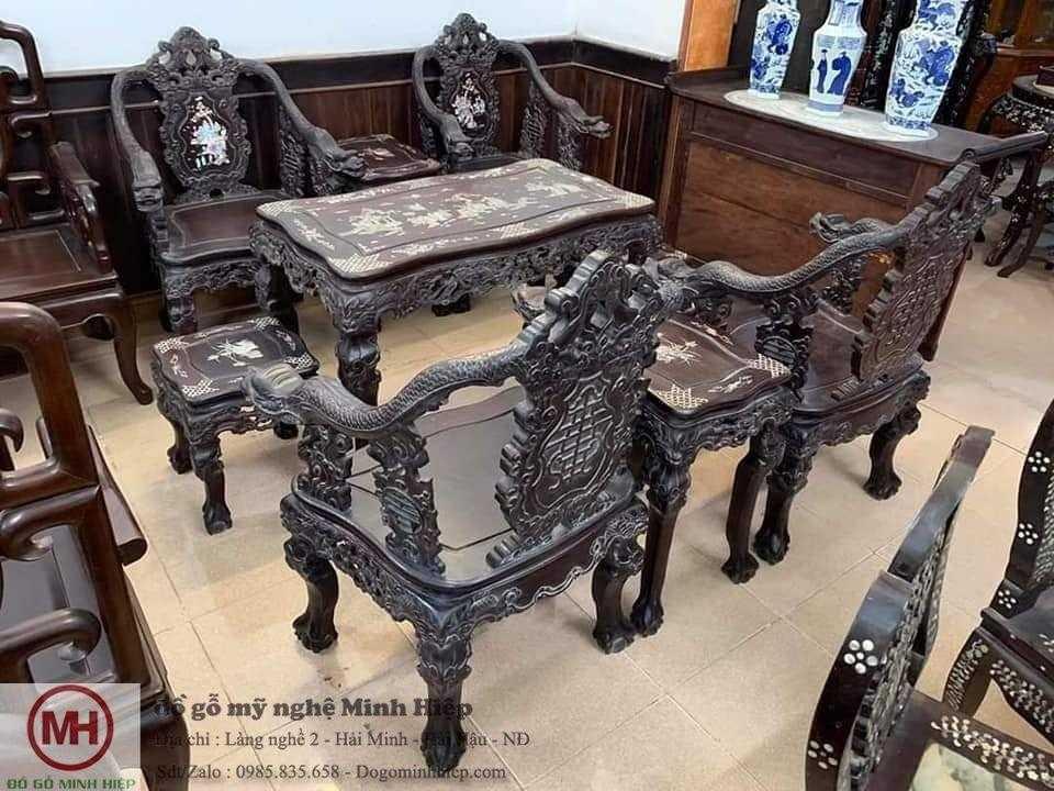 Những bộ bàn ghế cổ xưa đẹp giá rẻ cho phong khách