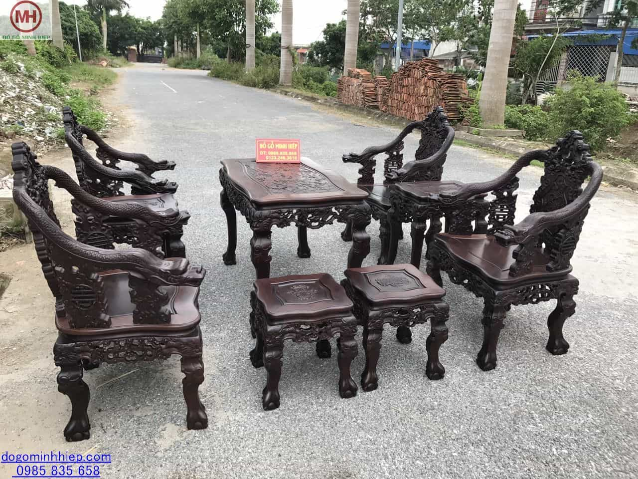 Bộ ghế vách rồng