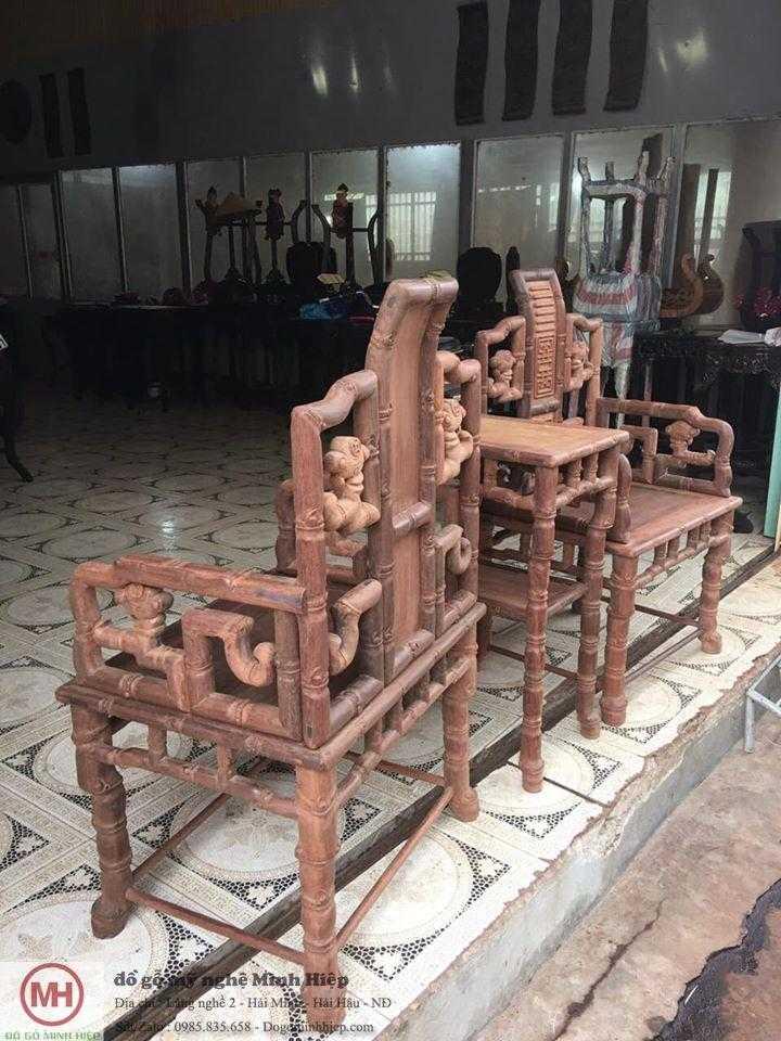 Bộ ghế minh trúc