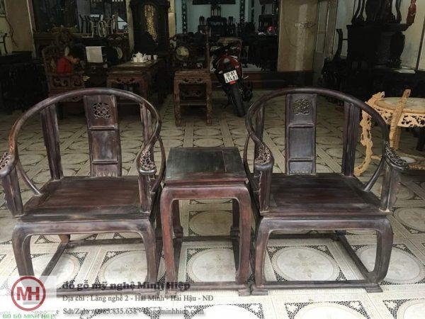Bộ ghế minh thúng gỗ trắc