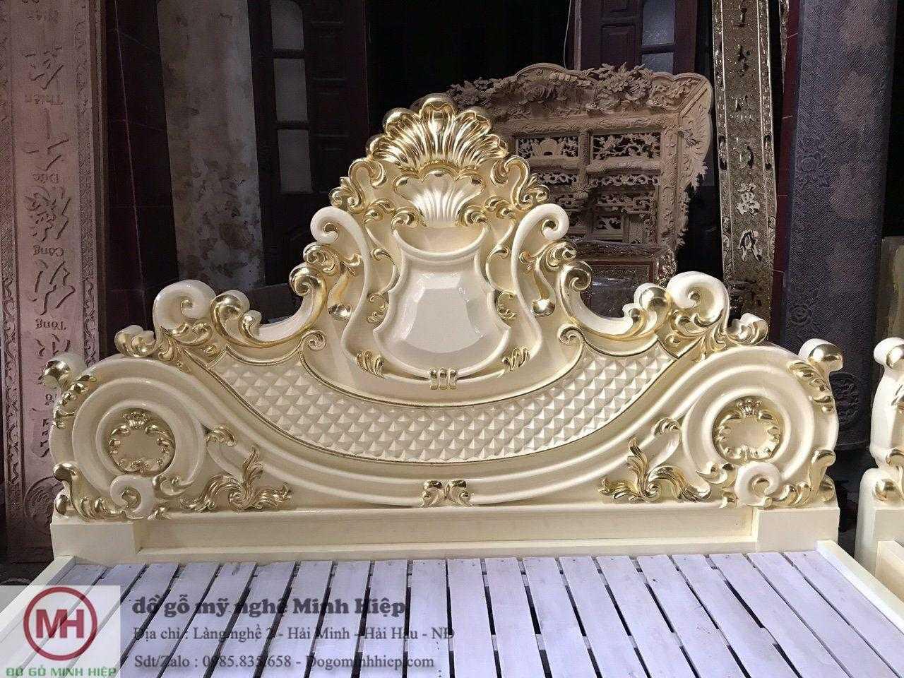 giường luois kiểu dáng Pháp