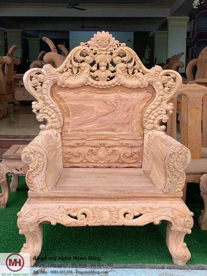 Bộ ghế hoàng gia mẫu 02