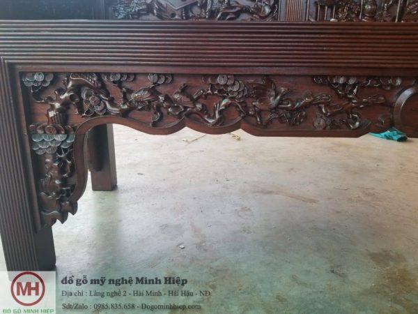 Báo giá bộ trường kỷ tích gỗ gụ