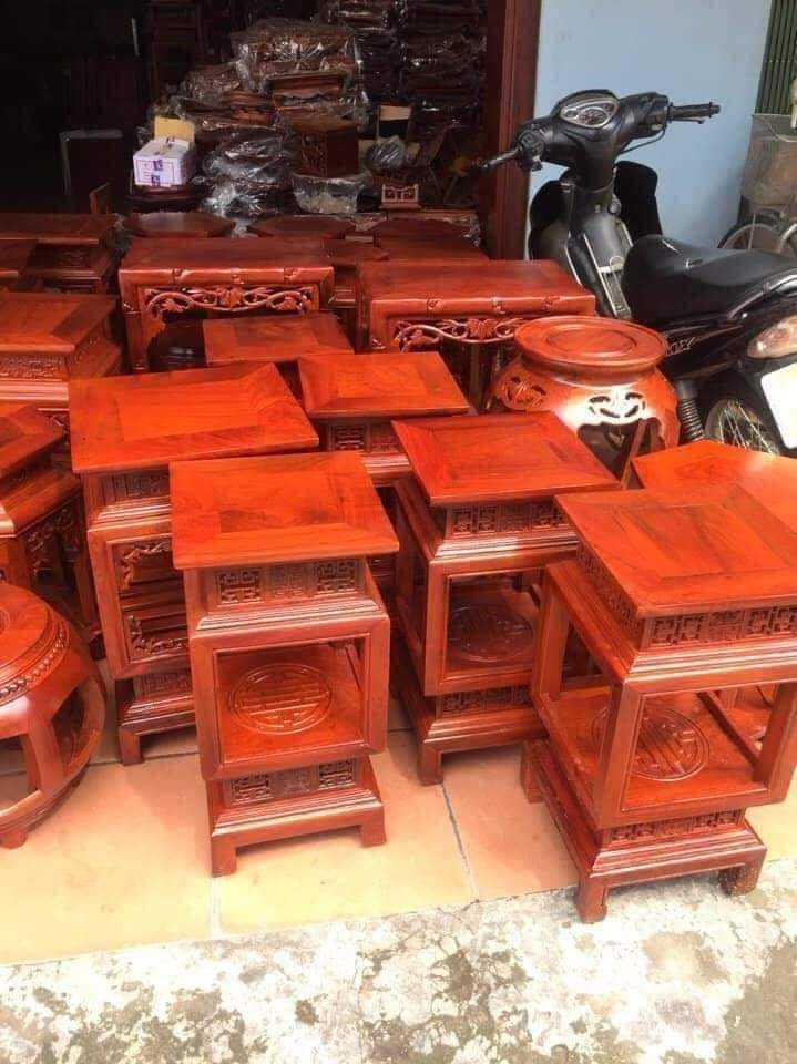 Đôn gỗ hương