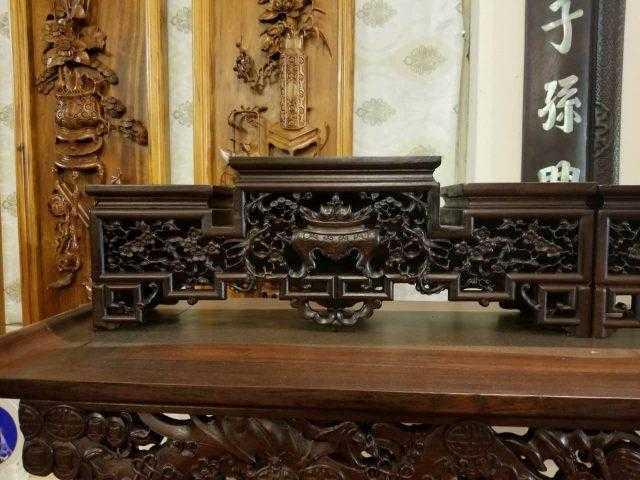 Đôn gỗ kê tượng