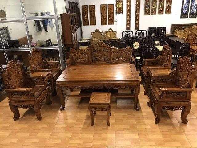 Trường kỷ gỗ tại Hà Nội