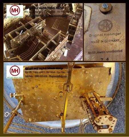 máy cơ đồng hồ cây được nhập từ Đức