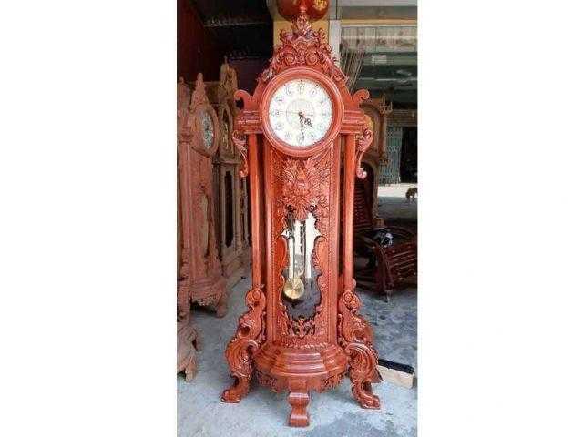 Đồng hồ cây hoa lá tây