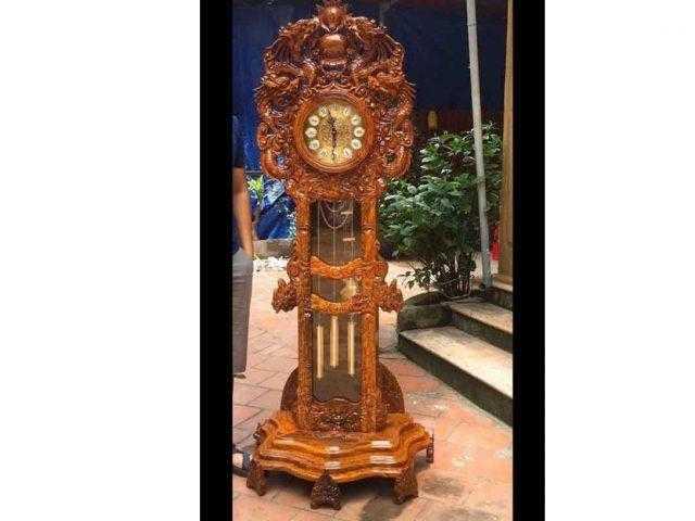 Đồng hồ cây hoa lá tây – DH12