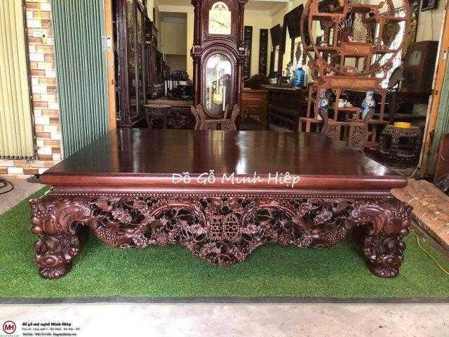 Sập gỗ mai điểu gỗ gụ hàng đại – mã 5585