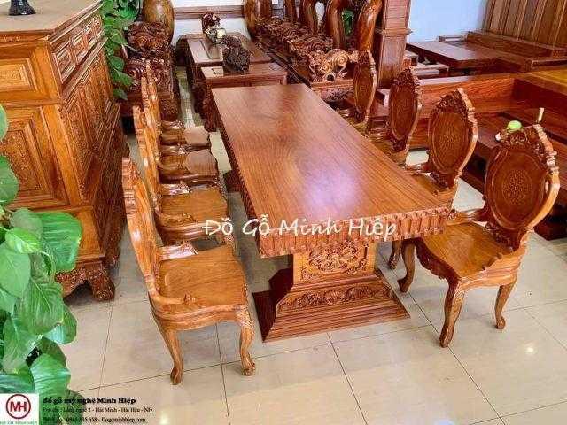 Bộ bàn ghế ăn nguyên khối – mã 5944