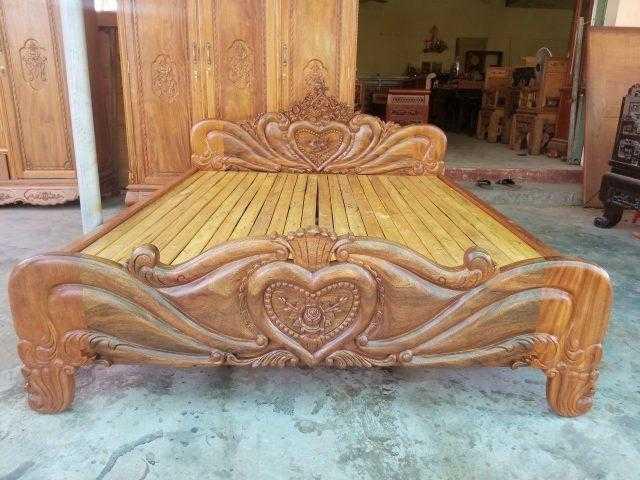 Giường ngủ gỗ lim – mã 5926